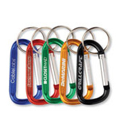 Promotional Key Holders and Carabineers